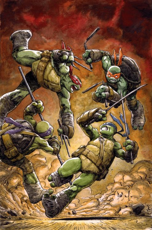 Teenage Mutant Ninja Turtles #60 - Dave Watcher