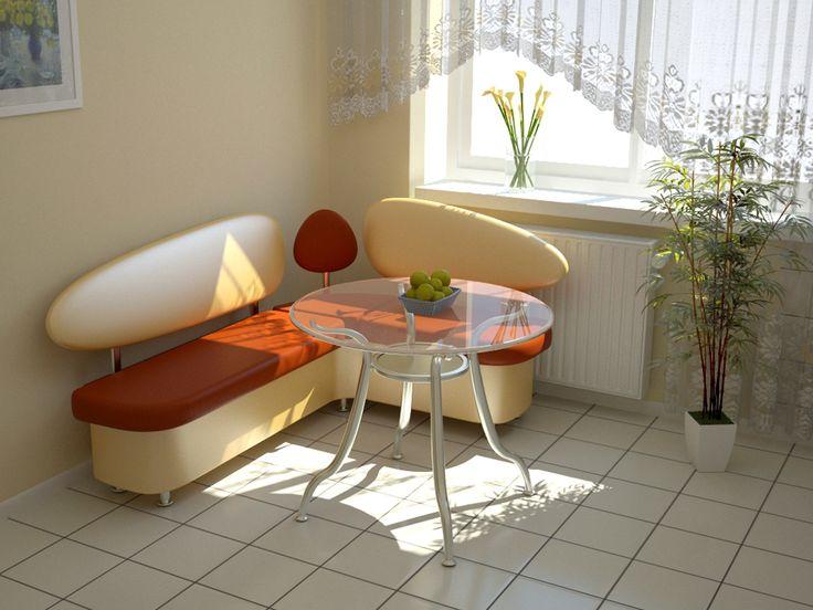 Дизайн кухни с диваном - 24 фото примеров и идеи интерьера