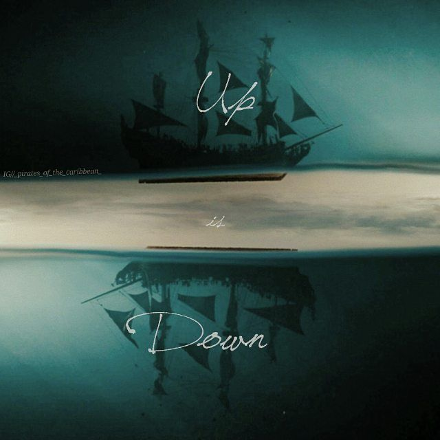 """《12.02.16》 . """"Up is down"""" Just a simple edit  If this edit get 400 likes i will make another today  I think I will delete this acc soon and make another potc  Account after the school but 7469 followers sorry  Many ghostie s followed i really don't understand them If they don't like my edits why they follow me   #piratesofthecaribbean #potcedits #upisdown #potc"""