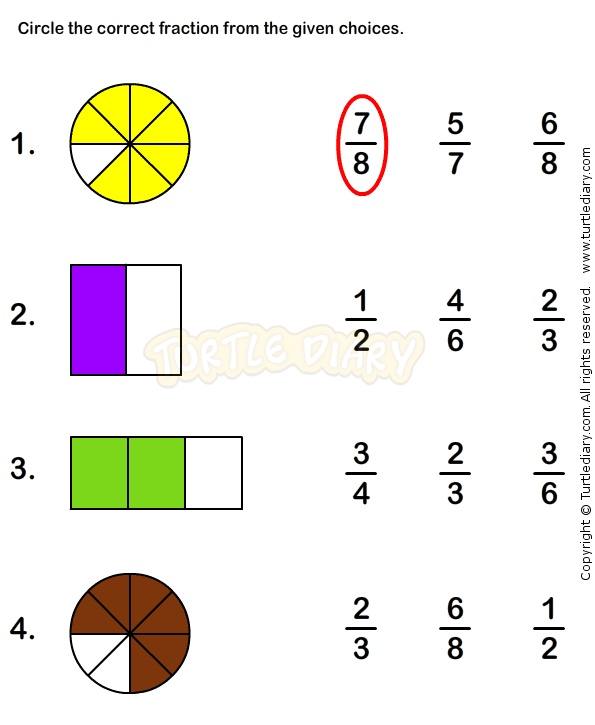 math worksheet : fractions fractions worksheets and worksheets on pinterest : Fractions Worksheets For Grade 4