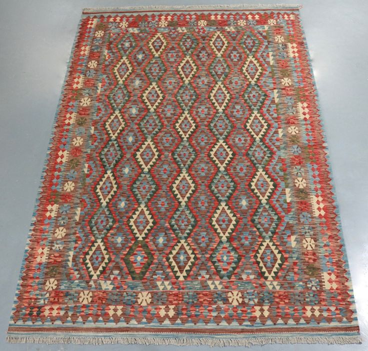Vegetable Dye Kilim (Ref 105097) 301x201cm - PersianRugs.com.au