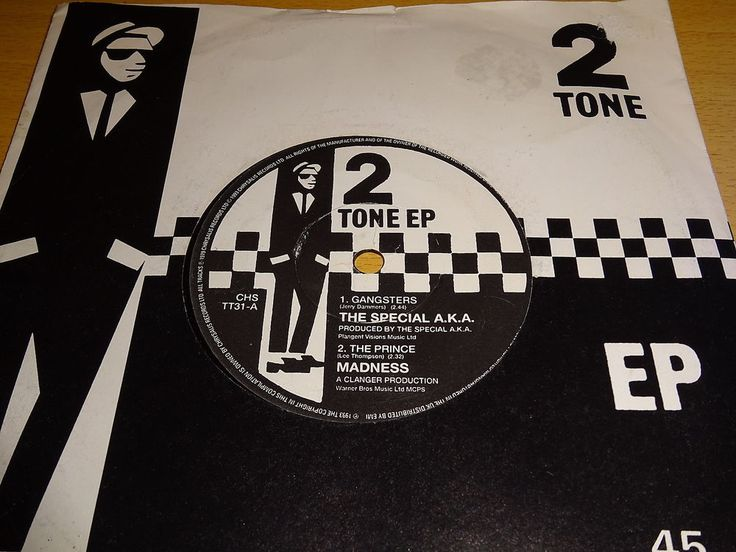 SPECIALS AKA MADNESS THE SELECTER THE BEAT  - 2 TONE EP 7  - CHS TT31