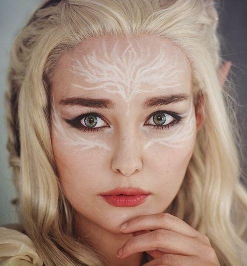 elvish make up <3                                                                                                                                                     More