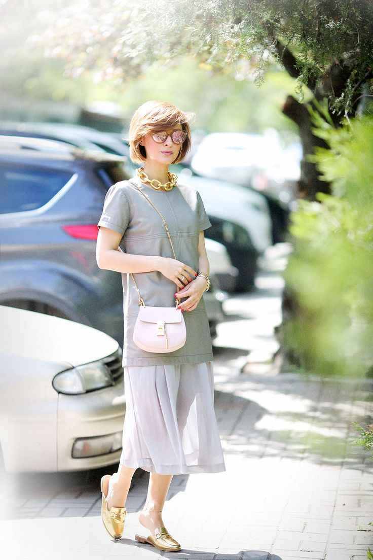 total grey outfit ideas, chloe drew bag outfits, spring outfit ideas,