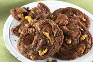 With a cool peppermint flavour,  classic chocolate chunk cookie @DinnerbyDesign by @Cassi1986