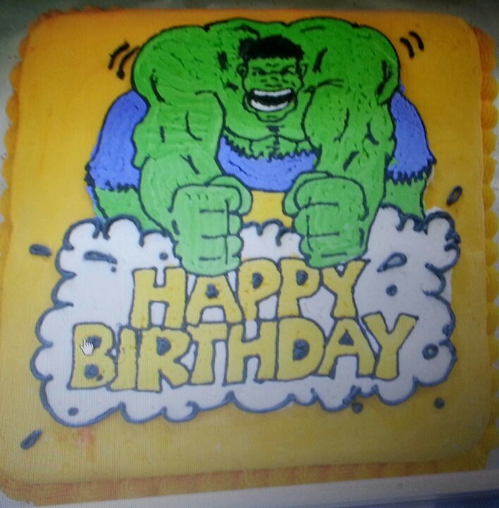 Hulk birthday cakeBirthday Parties, Hulk Birthday Cake, Birthday Cakes