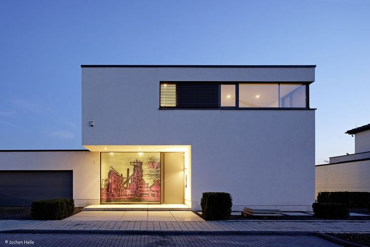29 best Fassaden images on Pinterest Facades, Garage and Modern homes - cortenstahl innenbereich ideen
