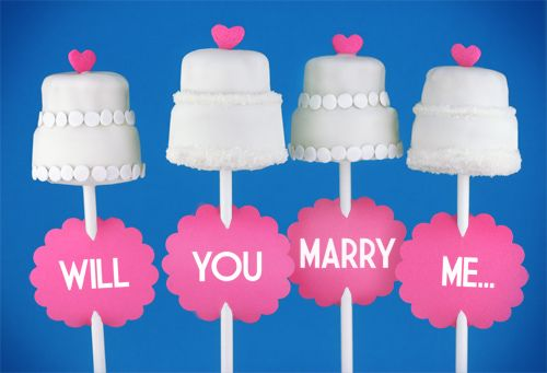 Will You Marry Me by Bakerella, via Flickr