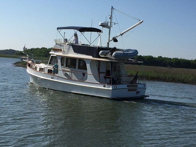 36 Grand Banks Europa for Sale | Trawlers | Salt Lick | Curtis Stokes Yacht brokers