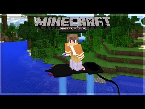 Minecraft PE | How to Make a Working JetPack! | Command