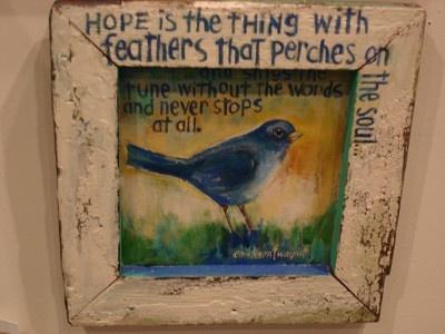 "Sandy Erickson-Wright ""Hope Is"""