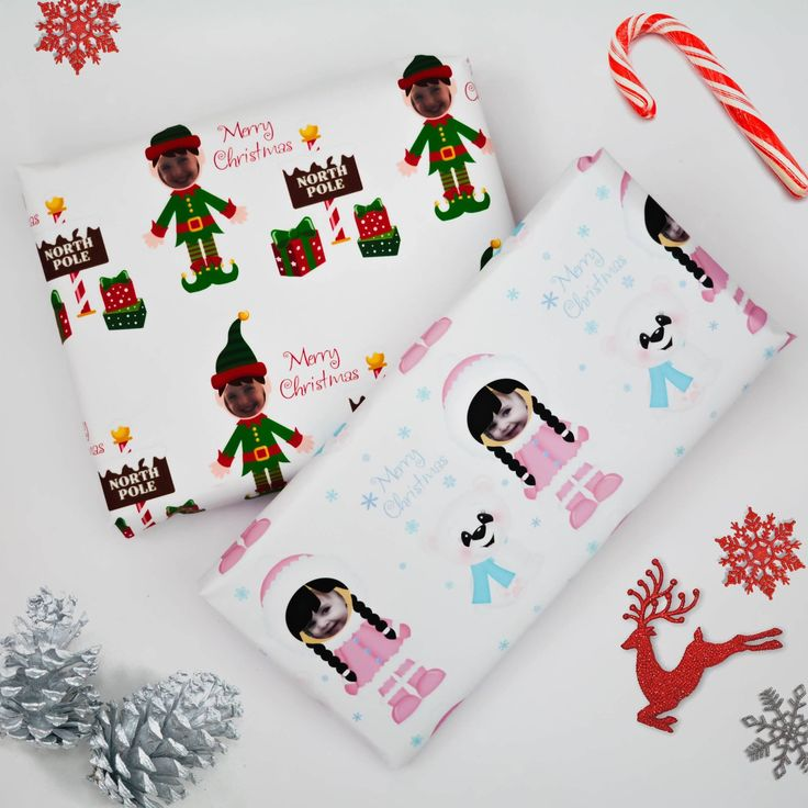 Personalised wrapping paper