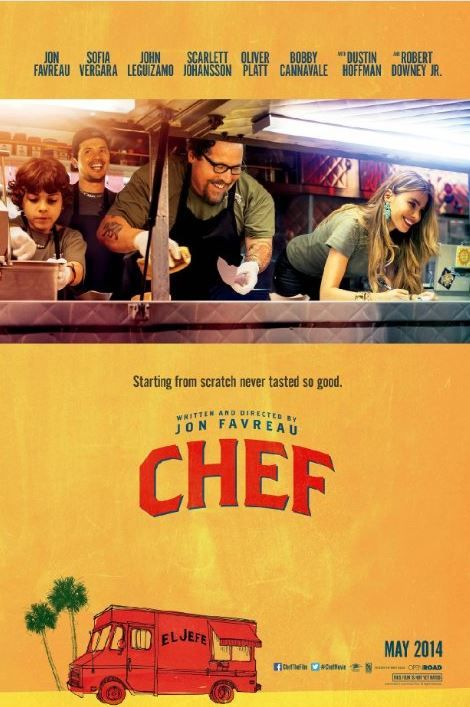 If you're a restaurateur or a foodie, you must watch #ChefMovie :) Absolutely delightful, very inspiring! Great cast. Funny, true and inspiring,