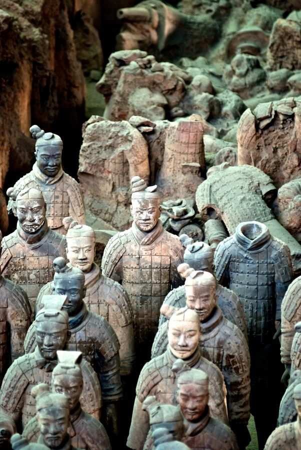Join one of our Silk route trips and visit the Terra Cota Warriors in Xi'an, China #Dragoman