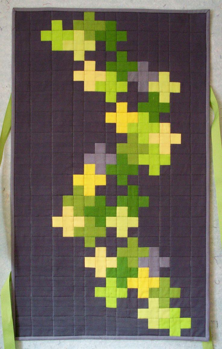 Busy Bee Quilt Designs Hip To Be Square : (pattern inspiration) Lappteknik Pinterest Minecraft och Inspiration