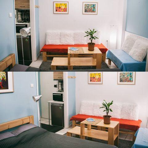 Exarcheia Cozy Studio 2, BetterHome's portofolio apartment.  #diaxeirshakinhton #welcomemore #solutions #advice #airbnb #BetterHomeEU http://better-home.gr/portfolio-diamerismatwn/