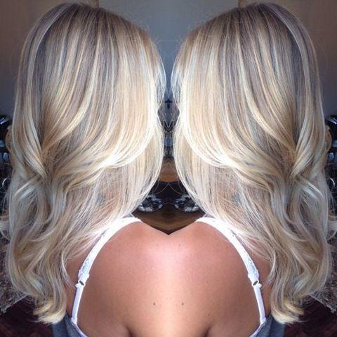 25 besten ideen zu blonde strähnchen auf pinterest