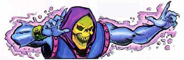 Skeletor casting a spell   He-Man