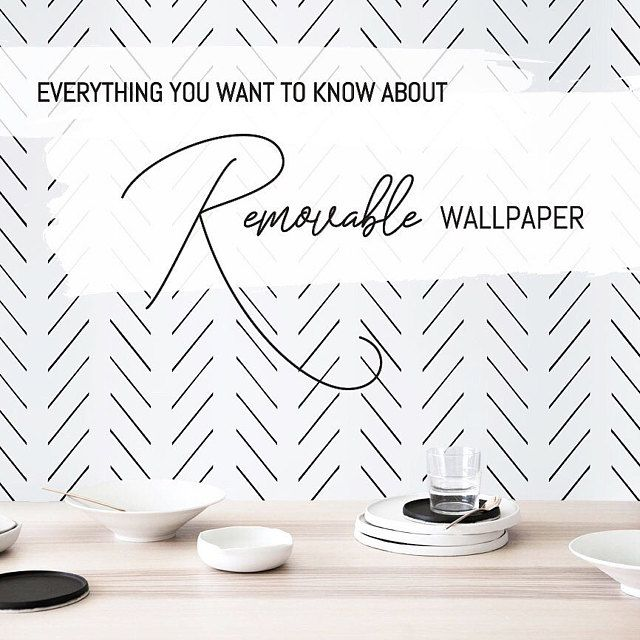 Trendy Removable Wallpaper Delivered Worldwide By Livettes On Etsy Herringbone Wallpaper Removable Wallpaper Self Adhesive Wallpaper