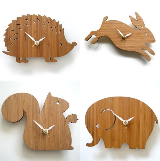 Animal Clocks by Decoylab