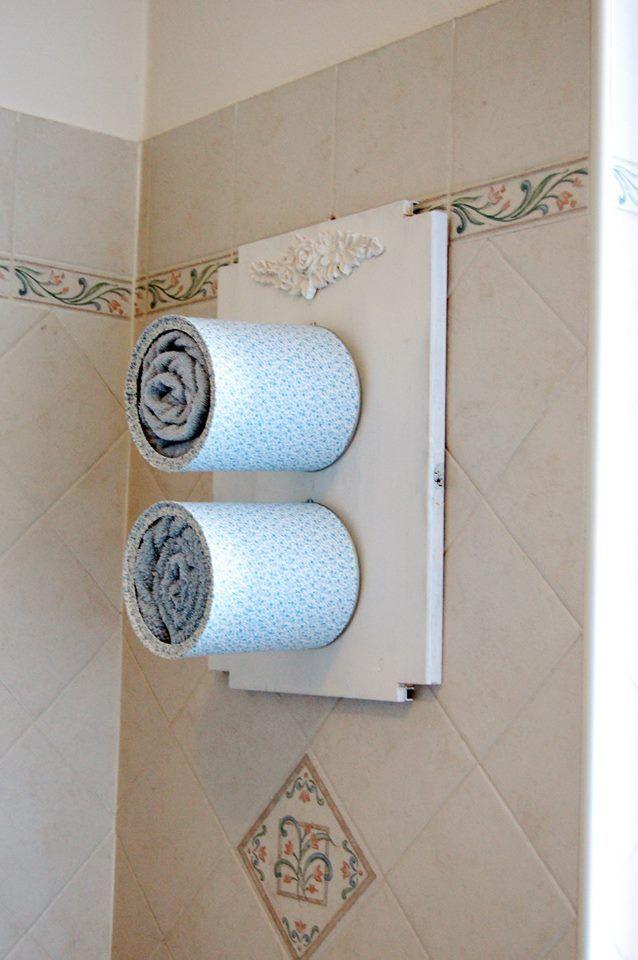 Le 25 migliori idee su porta asciugamani su pinterest - Portaspezie da parete ...