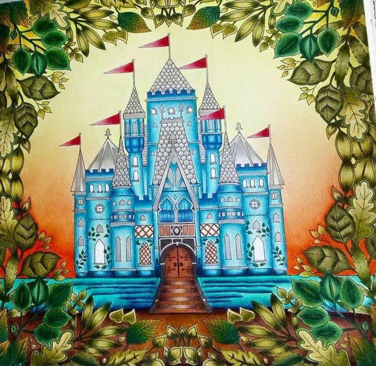 43 Best Castle Leaves Enchanted Forest Castelo Floresta