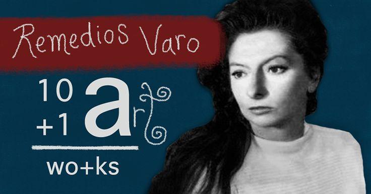 The art of Remedios Varo 10+1 Artworks Youtube channel TRECE LUNAS Cover art by Rita Ro