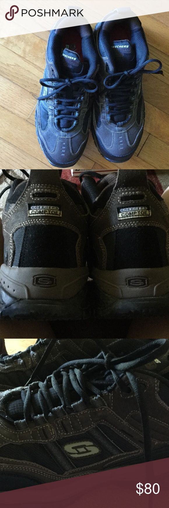 Men's Skechers work shoes Like new perfect condition Skechers Shoes Ankle Boots & Booties