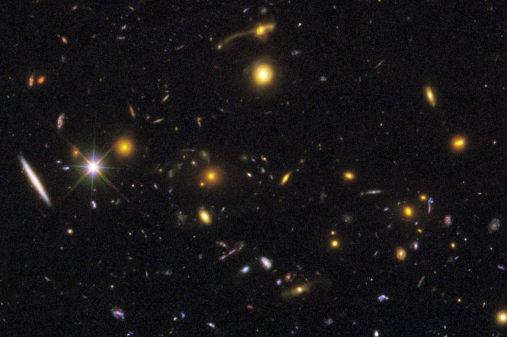 A great variety of galaxies in color, morphology, age and inherent stellar populations can be seen in this deep-field image. Image credit: NASA, ESA, R. Windhorst, S. Cohen, M. Mechtley, and M. Rutkowski (Arizona State University, Tempe), R. O'Connell (University of Virginia), P. McCarthy (Carnegie Observatories), N. Hathi (University of California, Riverside), R. Ryan (University of California, Davis), H. Yan (Ohio State University), and A. Koekemoer (Space Telescope Science Institute).