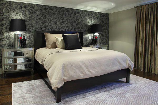 Client bedrooms designed by Glen & Jamie from Peloso Alexander Interiors.