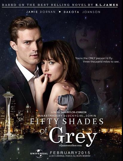 'Fifty Shades' Wraps Up Filming, Fans Anticipate Teaser Trailer. (Fan made poster)