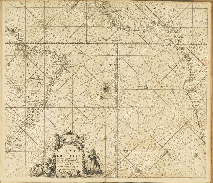 CA_65_A_26174_70 - Johannes van Keulen, (1654-1715) - «Le grand nouvel atlas de la mer ou monde aquatique». Amsterdam : Chez Jean van Keulen, 1680. BNP  C.A. 65 A.