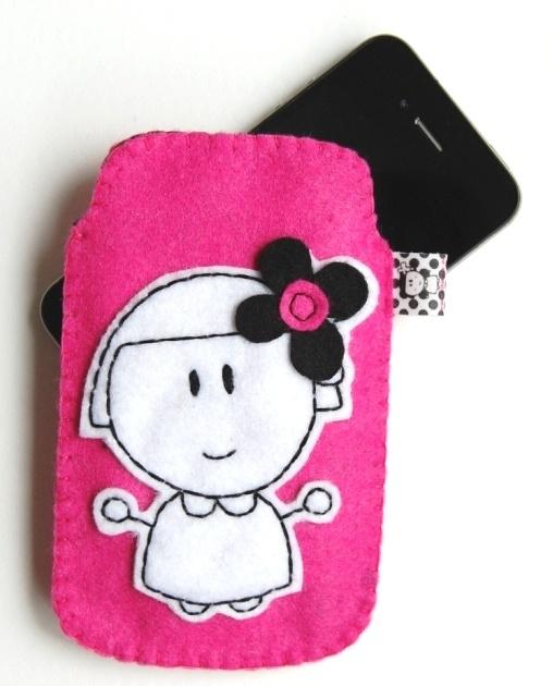 Funda móvil rosa de accesorios rite rite - Artesanio