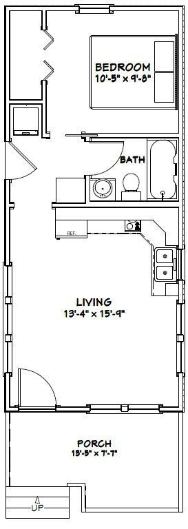 17 Best Images About Tiny House - Floor Plans On Pinterest | House