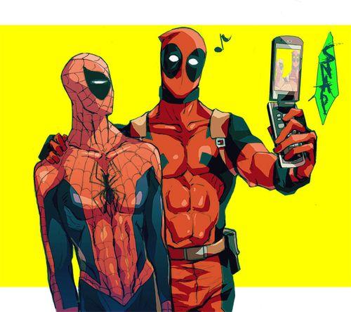 deadpool funny | deadpool spiderman | Tumblr