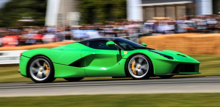 Jay Kay's Green LaFerrari and F12 TRS Spyder Cause Deadly Fanboy Riots at 2014 Goodwood FoS