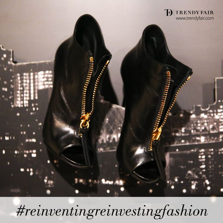 High above the city, reinventing, reinvesting fashion. Giuseppe Zanotti heels.