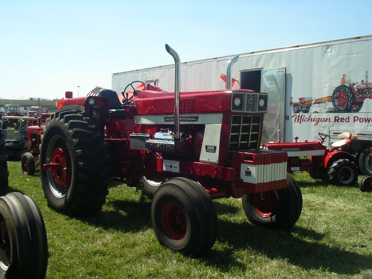 Antique International 1568 : Best images about red power round up lima oh on