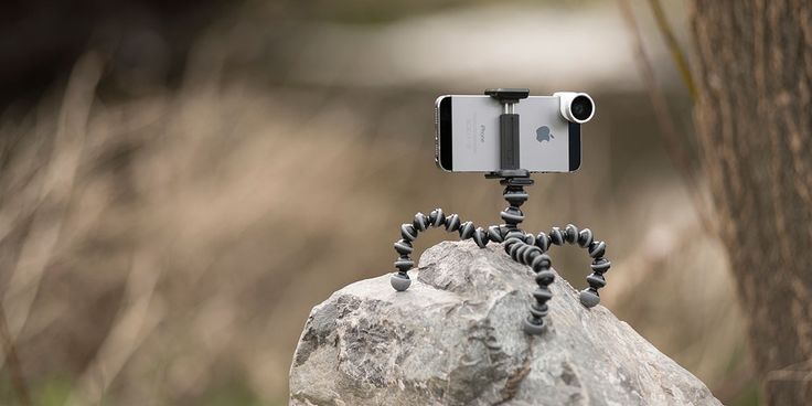 GripTight Gorillapod Stand in action