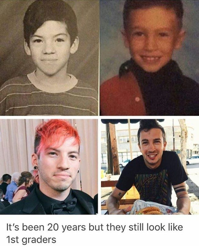 Tyler natural speaking voice sounds like a 1st graders still, Josh's voice got lower and Tyler's is still so high