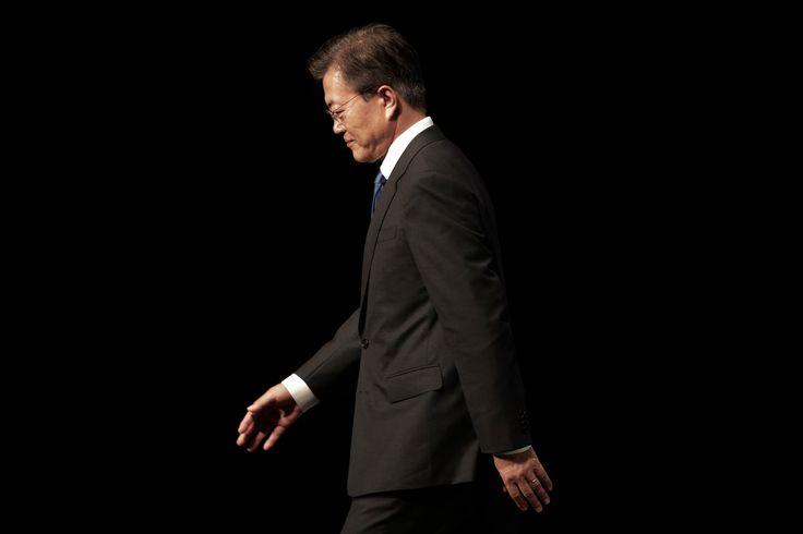 South Koreas Leader Bluntly Warns U.S. Against Striking North