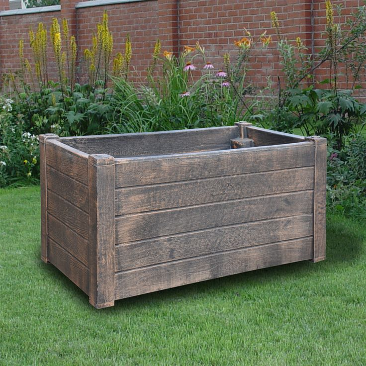Артикул 0006157 Название товара Большой ящик для растений (Planter TEAK L) Размер 900х300х300 Цена 6 500