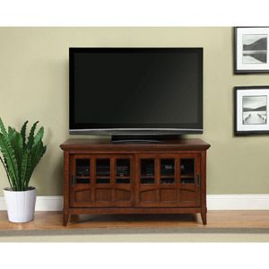 """Altra TV Stand for TVs up to 52"""", Antique Cherry"""
