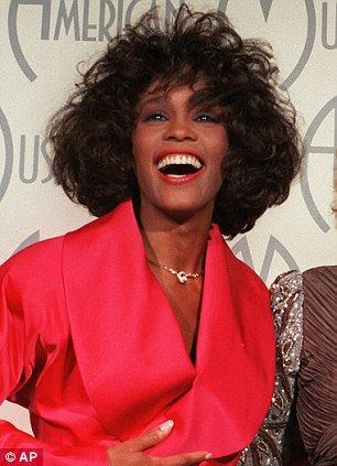 Joining the greats: Whitney Houston is being remembered in an exhibition at LA's Grammy Museum, which officially opened today