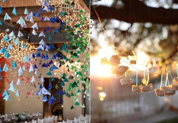 Hängende Deko, der neue Trend bei den Hochzeiten | Friedatheres