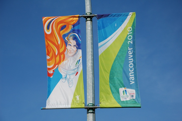 Vancouver 2010 Light Pole Banner http://materialpromotions.com/