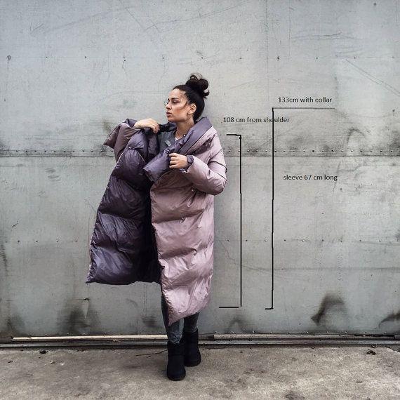 Winter coat Down feather warm jacket Women winter by kirishkin