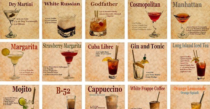 The Martini vs. The Manhattan