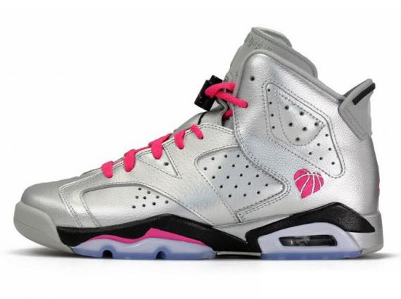 The Jordan Brand continues their tradition of celebrating Valentine's Day  with an all new Air Jordan 6 Retro GS for