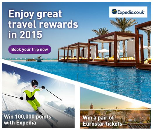 Web banner from Nectar Travel with competitions #Web #Banner #Digital #Online #Marketing #Travel #Holiday #Competition #Rewards